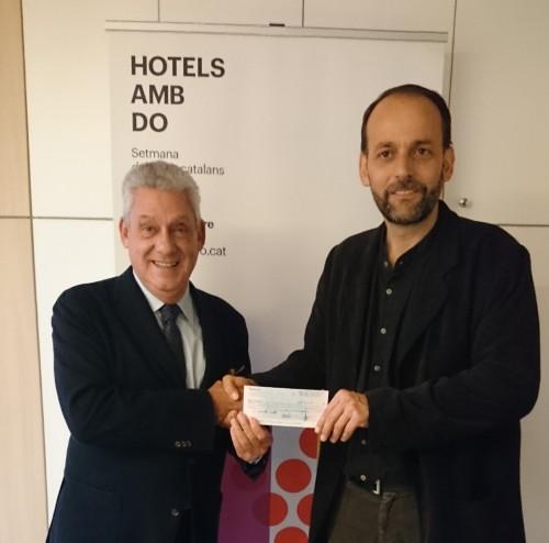 El GHB lliura un donatiu a l'obra Social Sant Joan de Déu