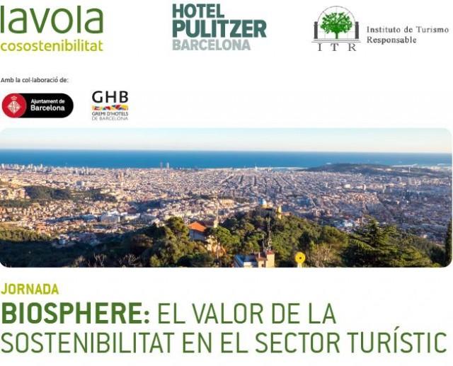 Lliurament del Certificat Biosphere Hotels a l'Hotel Pulitzer