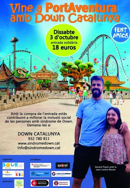 Fent Amics amb Down Catalunya a PortAventura – 3 d'octubre