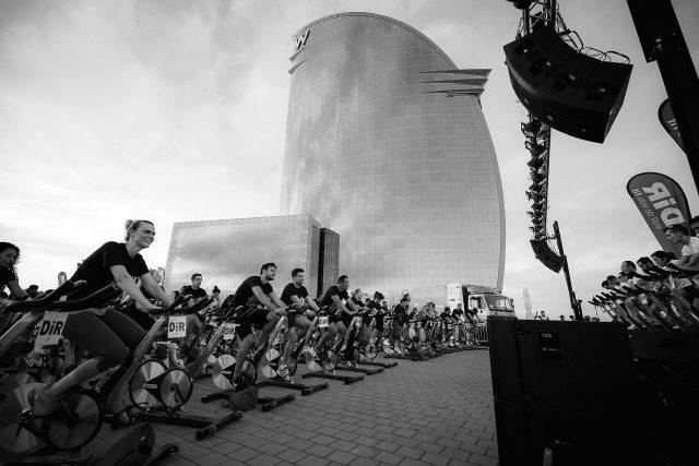 """W Barcelona i DiR units amb """"Pedala x UNICEF"""" #HotelsCompromesos"""