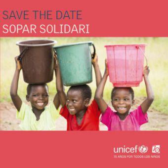 Sopar solidari a Le Méridien Barcelona a favor d'UNICEF