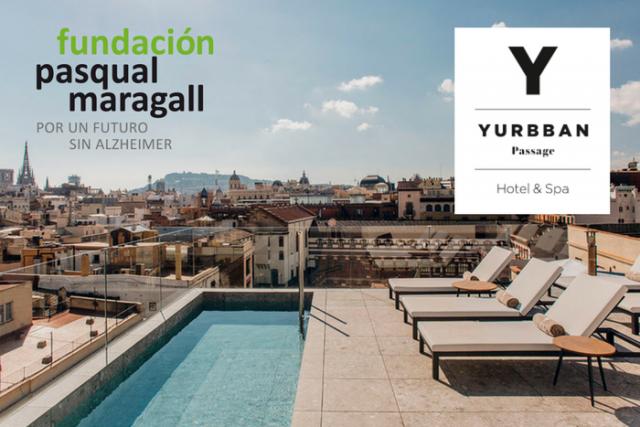 L'hotelYurbbanPassagei la FundacióPasqualMaragall units contra l'Alzheimer