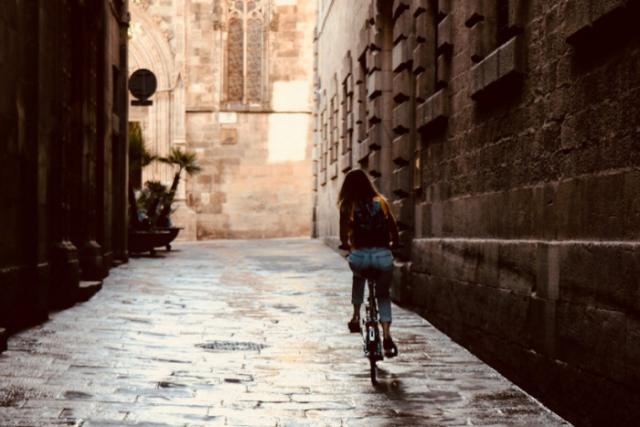 El Dia sense Cotxes del Barcelona Catedral