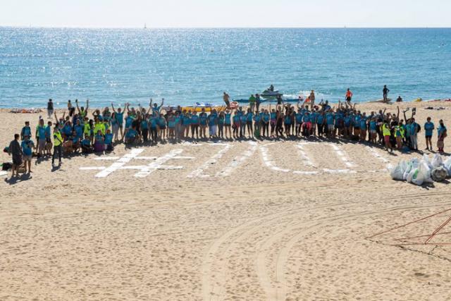 565 kg de residus recollits en la tercera Jornada de neteja del fons marí
