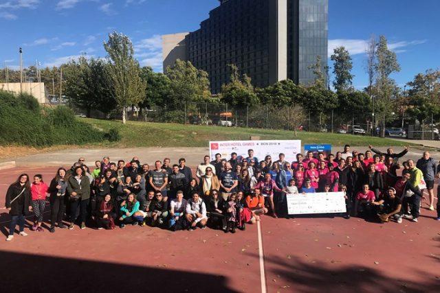 La 4ª edició dels Inter Hotel Games Barcelona recapta més de 19.000€ solidaris