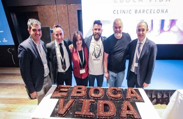 Eboca Vida promou un esdeveniment solidari per a recaptar fons en favor de l'Hospital Clínic de Barcelona