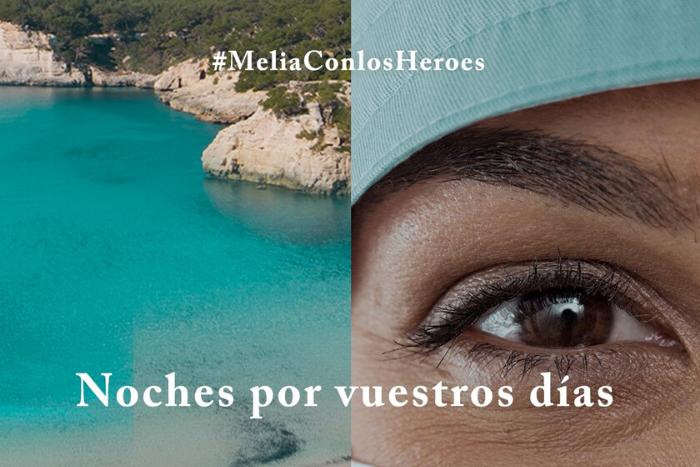 Meliá Hotels & Resorts regala 10.000 estades al personal sanitari que lluita contra la Covid-19